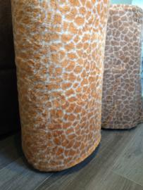 Teddy Giraffe Print - Oranje