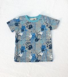 T-shirt Verfspatten