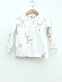 T-shirt Long Sleeve Flamingo