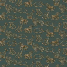 Soft Sweat Bio - Happy Animals