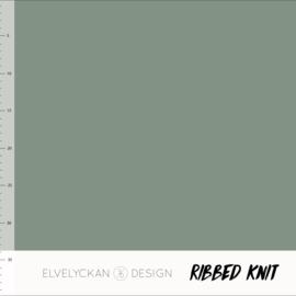 Ribbed Knit - Green