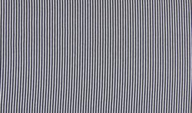Rib Stripe - Navy/White