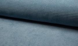 Jersey Corduroy Blue