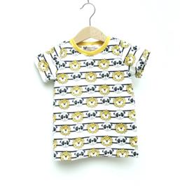 T-shirt Panda & Leeuw