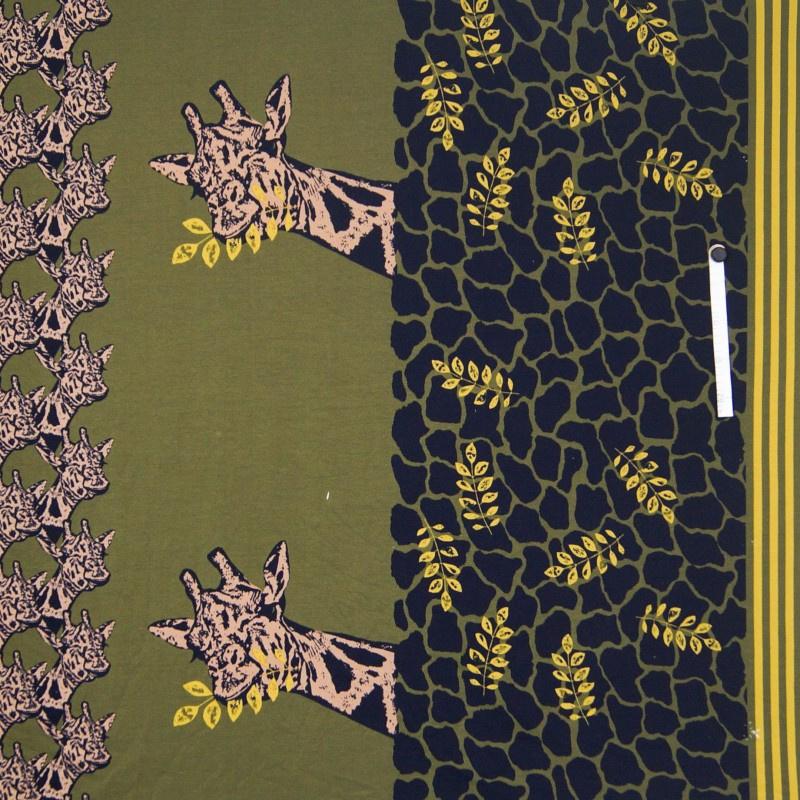 French Terry - Giraffe