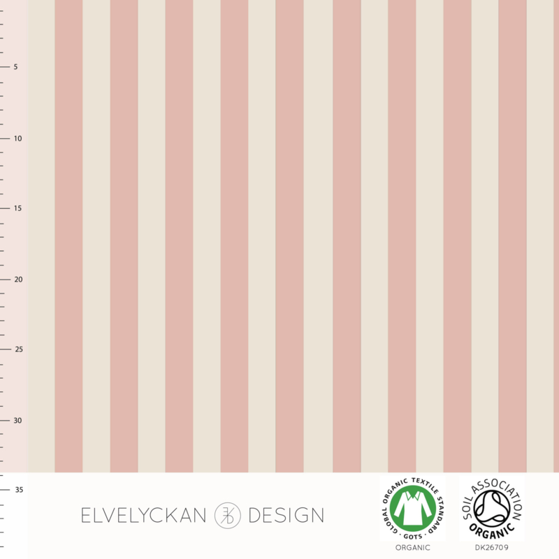 Organic Jersey - Vertical Stripes