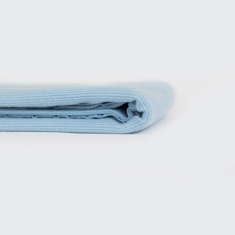 Ribbing - Fog Blue