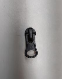 Waterdichte rits runner zipper nr 5 zwart
