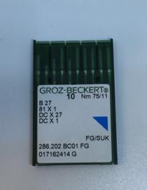 Locking machine needles 75/11