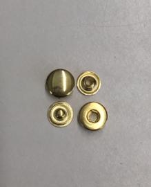 push button gold 10mm 100sets