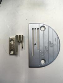 25x sets Naaldplaten + Transporteurs
