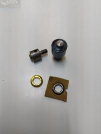 Stempelset voor zeilringen 15mm