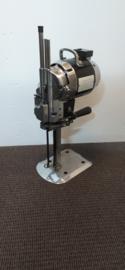 Doek/stof/lappen snijmachine 10inch