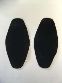 elbow patches black color 1 set