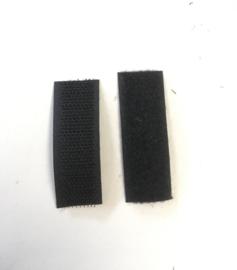 Klittenband beiden kanten 2cm breed en  25meter op één rol