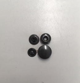 push button black 15mm 100sets