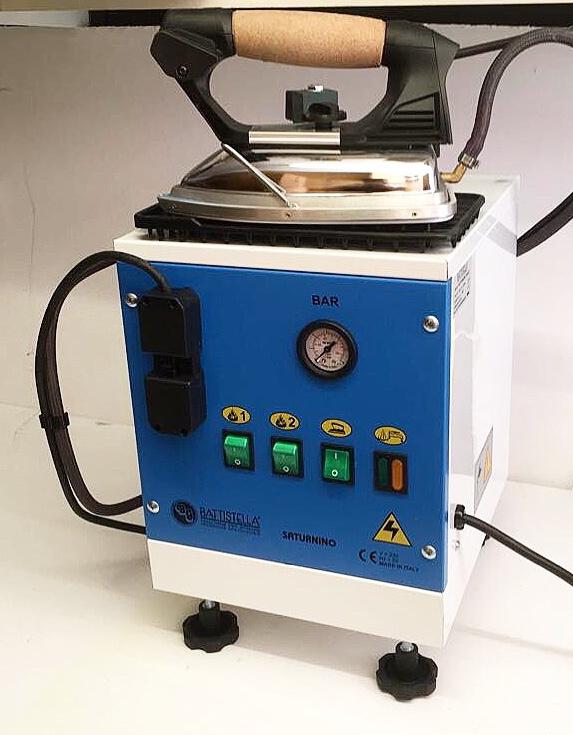 3x Battistella strijkijzer stoomketel 7 liter