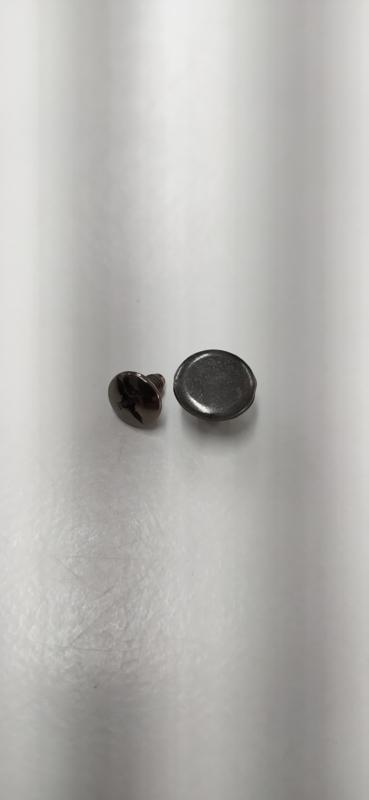 Riemschroef zwarte kleur 10mm per 50sets