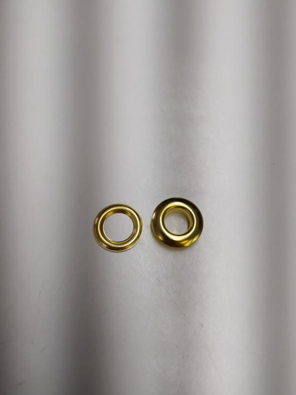 Zeilringen 100sets gouden kleur  15mm diameter