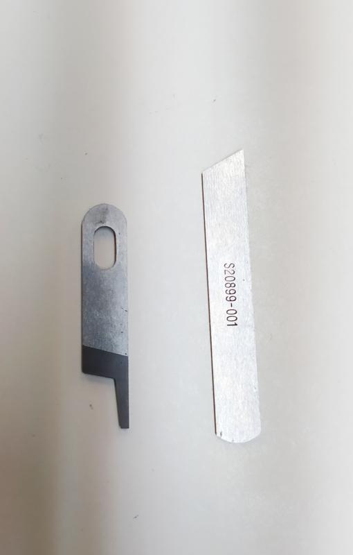 Industriele Brother lockmachine messen set