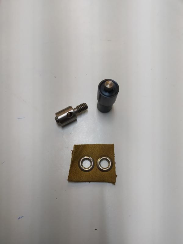 Stempelset voor zeilringen 11,4mm