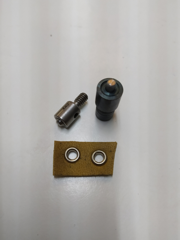 Stempelset voor zeilringen 9,5mm