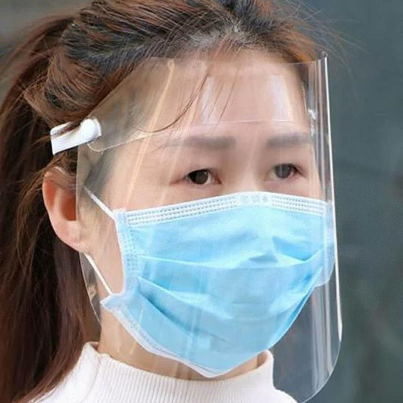 Plastic gezichtsmaskers oftewel Faceshield!