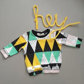 Driehoekensweater