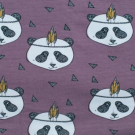 Pandabroek aubergine