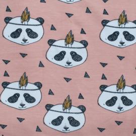 Pandabroek oud roze