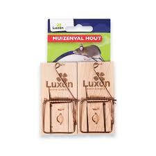 Luxan muizenval hout 2x