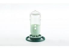 Fauna flessenhouder groen glazen of plastic pot