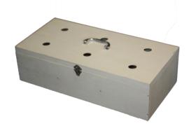 Transportkoffer drie vaks (bouwpakket)