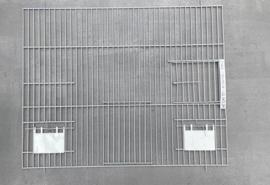 Voorfront 50 x 40cm  coating grijs