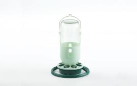 Fauna flessenhouder groen glazen pot