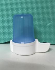 Superfontein blauw 140 ml , voorzien van schroefdraad.
