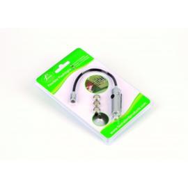 Flexibel aluminium schouwlampje inclusief batterijen
