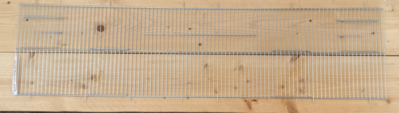 Voorfront  120 x 30 cm, 2schuifdeuren, 2 nestkastdeuren