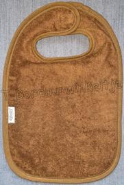 Slab Brown Clay geborduurd met naam
