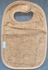 Slab Sand geborduurd met naam