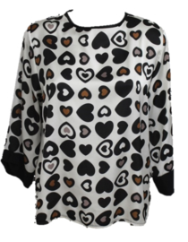 Hearts blouse
