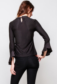 Cutworked top