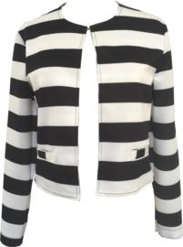 Black/white jacket