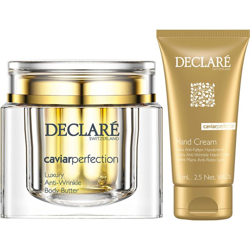 Declaré Caviar Perfection Cadeauset, Luxury Anti-Wrinkle Body Butter & (gratis) Luxury Anti-Wrinkle Hand Cream