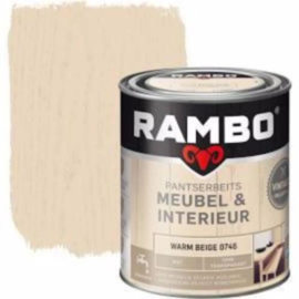 Rambo Pantserbeits Meubel & Interieur - 750ml - Warm Beige 0746
