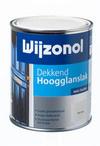 Wijzonol Dekkend Hoogglans - 0,75 ltr - Bordeauxrood 9346