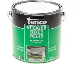 Tenco Steigerhoutbeits - 2,5 liter