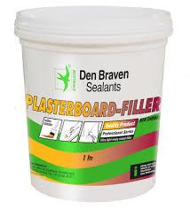 Den Braven Plasterboard Filler - 1 ltr