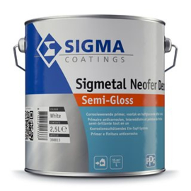 Sigmetal Neofer Decor - 2,5 ltr - WIT