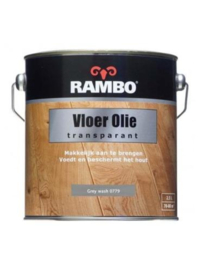 Rambo Vloer Olie Transparant - 750ml - Grey Wash 0779